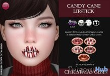Candy Cane Lipstick Christmas 2018 Gift by Izzie's - Teleport Hub - teleporthub.com