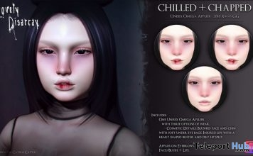 Unisex Chilled & Chapped Makeup Omega Applier December 2018 Group Gift by Lovely Disarray - Teleport Hub - teleporthub.com