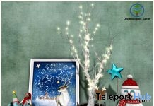 Happy Holidays Set Christmas 2018 Group Gift by Dreamscapes Art Gallery - Teleport Hub - teleporthub.com