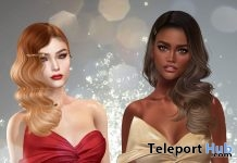 Bow Wrap Dress December 2018 Gift by ISON - Teleport Hub - teleporthub.com