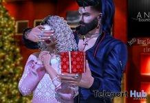 Surprise Gift Couple Bento Pose Christmas 2018 Group Gift by Ana Boutique - Teleport Hub - teleporthub.com