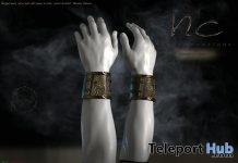 Ragnarock Bracers December 2018 Group Gift by Noble Creations - Teleport Hub - teleporthub.com