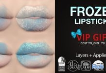 Frozen Lipsticks December 2018 Group Gift by Mad' - Teleport Hub - teleporthub.com