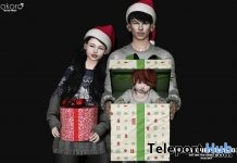Merry Christmas 03 Family Pose December 2018 Group Gift by Kokoro Poses - Teleport Hub - teleporthub.com