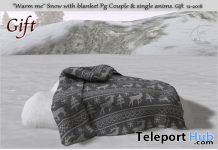 Warm Me Snow With Blanket PG December 2018 Group Gift by Tm Creation - Teleport Hub - teleporthub.com