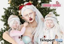Family Christmas Pose December 2018 Group Gift by Little Friend Clothes - Teleport Hub - teleporthub.com