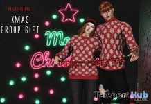 Xmas Sweater Unisex December 2018 Group Gift by Red Girl - Teleport Hub - teleporthub.com