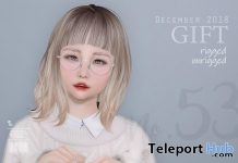 Hair No. 53 Fatpack December 2018 Group Gift by DP YUMYUM - Teleport Hub - teleporthub.com