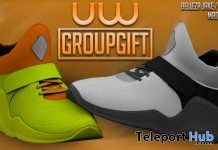 Iwazu Shoes Unisex December 2018 Group Gift by Uniwaii - Teleport Hub - teleporthub.com