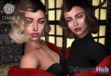 Diana Skin Applier For Catwa & Lelutka Heads December 2018 Group Gift by Clef de Peau - Teleport Hub - teleporthub.com
