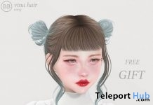 Vina Hair Fatpack December 2018 Gift by NANI - Teleport Hub - teleporthub.com