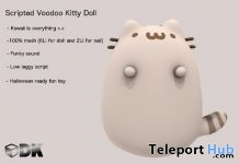 Creamy Voodoo Kitty for X'mas December 2018 Group Gift by [DK]scripts - Teleport Hub - teleporthub.com