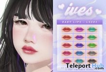 Baby Lips For Catwa 50% Off Promo by IVES - Teleport Hub - teleporthub.com