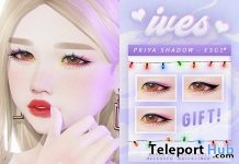 Priya Eyeshadow For Catwa Heads December 2018 Gift by IVES. - Teleport Hub - teleporthub.com