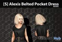 New Release: [S] Alexis Belted Pocket Dress by [satus Inc] - Teleport Hub - teleporthub.com