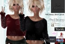 Xmas Sweater & Shay Mini Skirt December 2018 Gift by Pearl Fashion - Teleport Hub - teleporthub.com