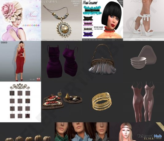 Several Christmas 2018 Group Gifts @ FaMESHed December 2018 by Various Designers - Teleport Hub - teleporthub.com