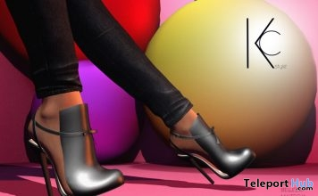 Indil High Shoes Black December 2018 Group Gift by Kc.Style - Teleport Hub - teleporthub.com
