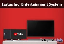 New Release: Entertainment System by [satus Inc] - Teleport Hub - teleporthub.com