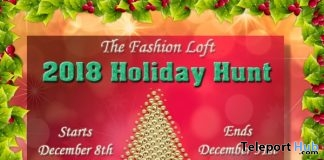 The Fashion Loft 2018 Holiday Hunt - Teleport Hub - teleporthub.com
