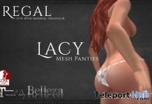 White Lacey Panties 1L Promo Gift by Regal - Teleport Hub - teleporthub.com