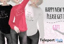 New Year Top January 2019 Gift by AND OR NOT - Teleport Hub - teleporthub.com