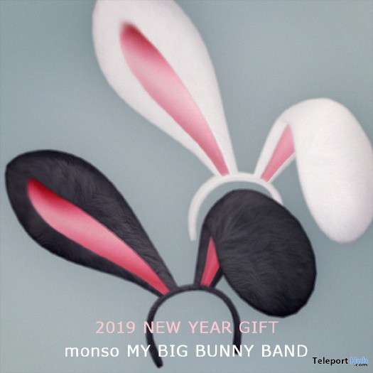 My Big Bunny Band January 2019 Group Gift by monso - Teleport Hub - teleporthub.com