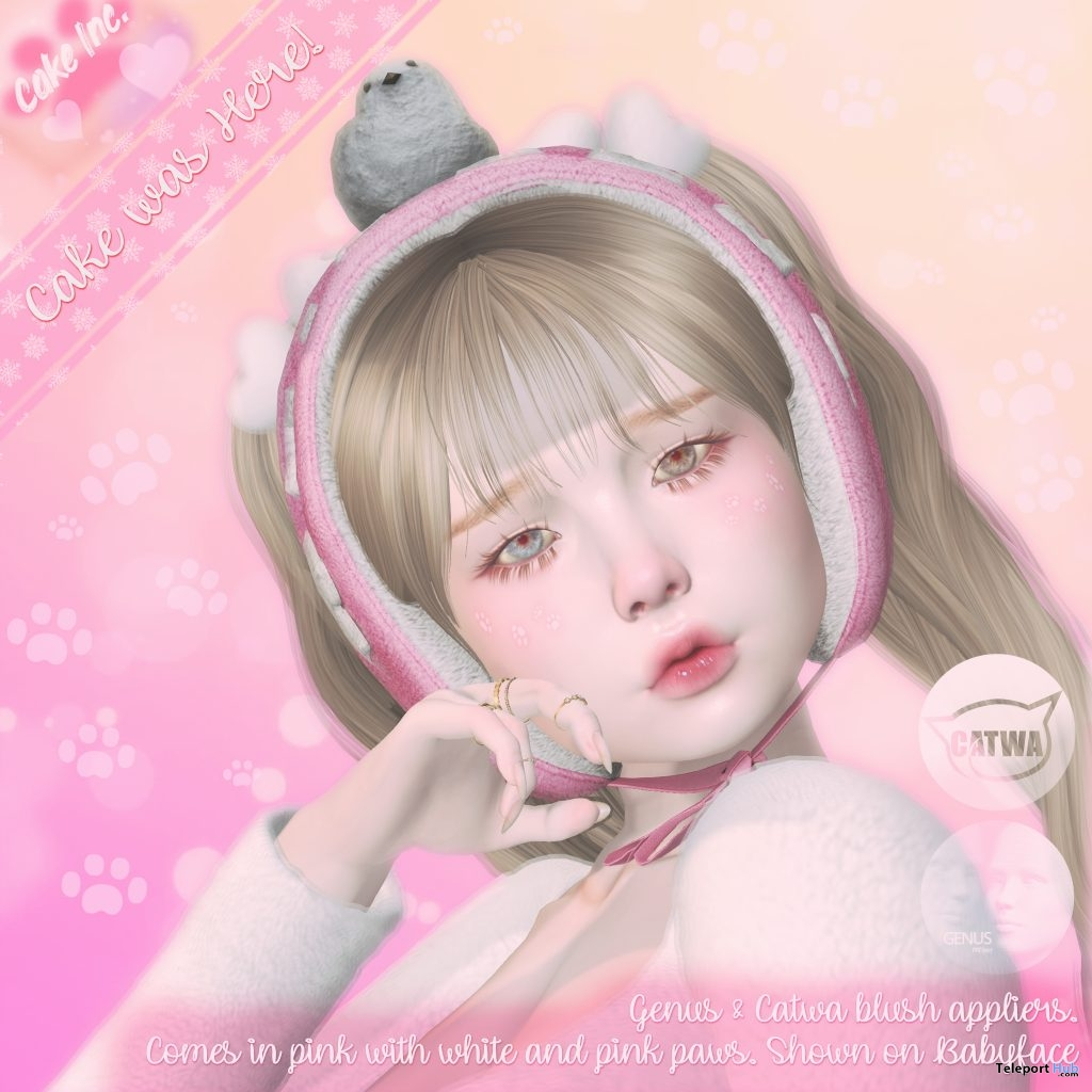 Cake Was Here Blush Appliers January 2019 Group Gift by Cake Inc. - Teleport Hub - teleporthub.com