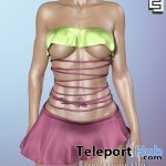 Frozen Jade Outfit January 2019 Group Gift by Elven Elder - Teleport Hub - teleporthub.com