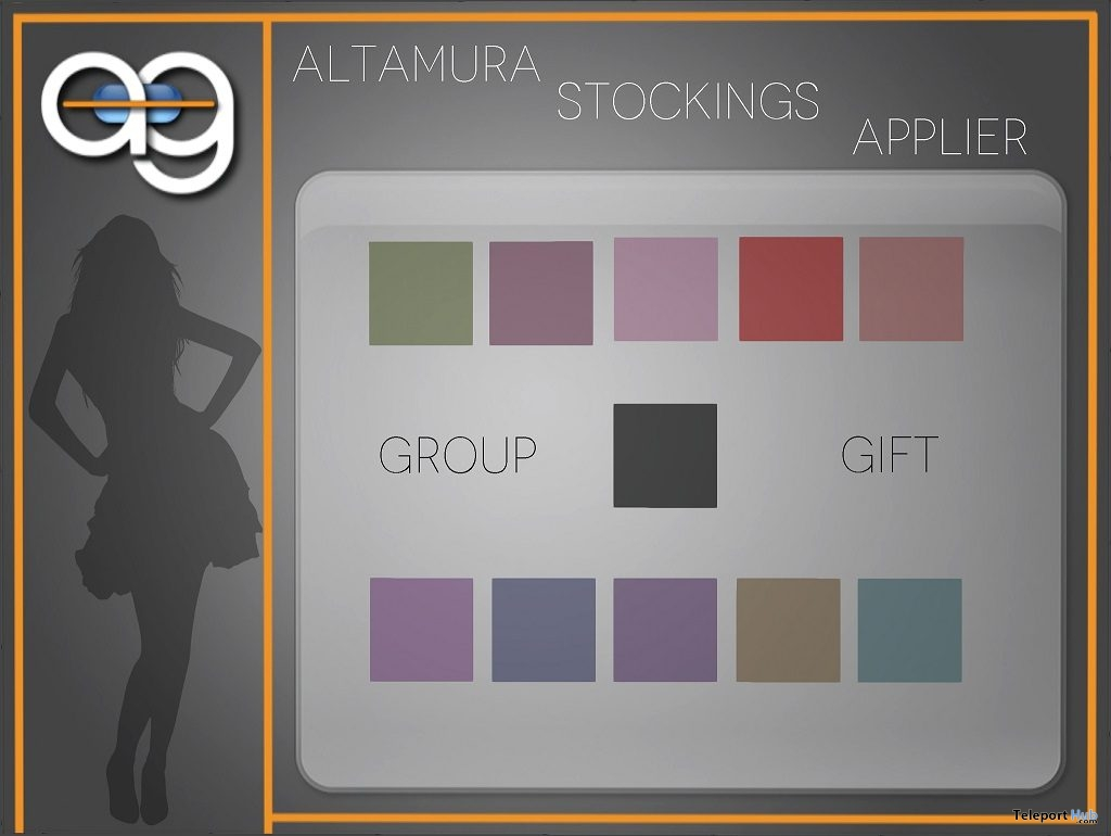 Velated Line Stockings For Altamura Mesh Body January 2019 Gift by Altamura - Teleport Hub - teleporthub.com
