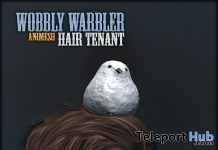 Wobbly Warbler Companion Pet January 2019 Group Gift by [ContraptioN] - Teleport Hub - teleporthub.com