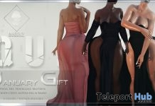 Promise Dress January 2019 Group Gift by QUEENZ- Teleport Hub - teleporthub.com