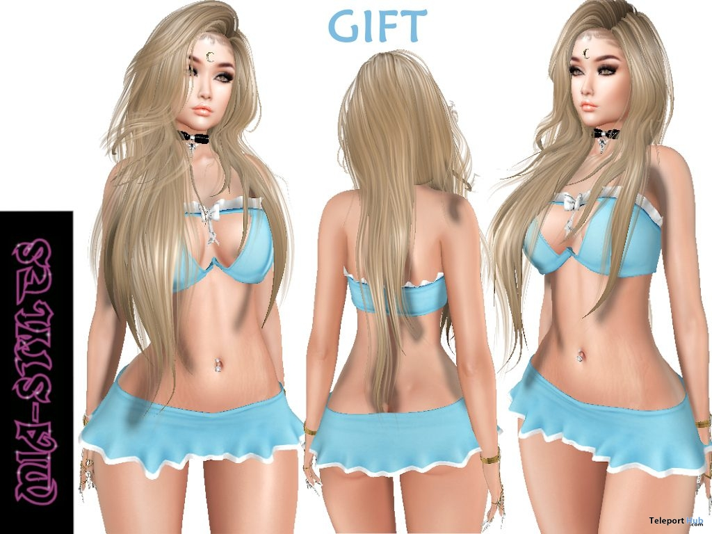 Bailey Outfit January 2019 Group Gift by Mia Styles - Teleport Hub - teleporthub.com
