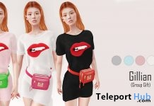Gillian T-Shirt Fatpack January 2019 Group Gift by [DDL] Accessories- Teleport Hub - teleporthub.com