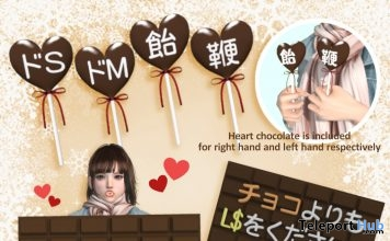 Chocolate Message January 2019 Group Gift by [MINDS] - Teleport Hub - teleporthub.com