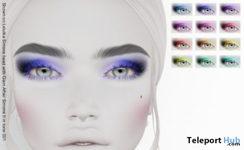 Pili Eye Makeup Limited Time January 2019 Gift by Zibska - Teleport Hub - teleporthub.com