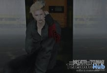 Tsunagi Black Outfit With Pattern HUD Teleport Hub Group Gift by Breath - Teleport Hub - teleporthub.com