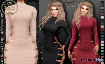 Lena Dress 50% Off Promo by {Le'La} - Teleport Hub - teleporthub.com