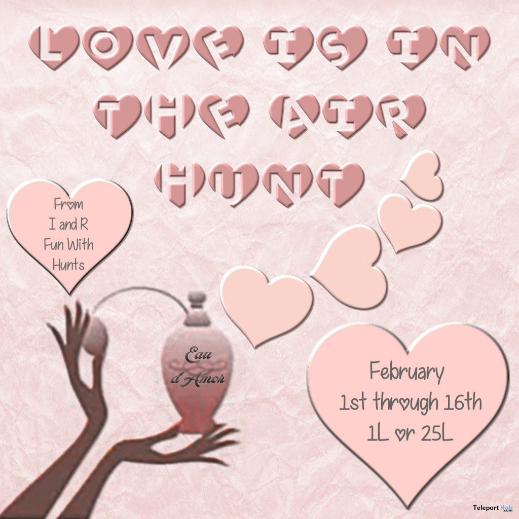 Love Is In The Air Hunt 2019- Teleport Hub - teleporthub.com