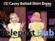New Release: [S] Cacey Belted Shirt Dress by [satus Inc]- Teleport Hub - teleporthub.com