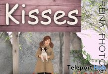 Kissing Booth Single Unisex Pose {RP} SG0028 January 2019 Group Gift by Reina Photography - Teleport Hub - teleporthub.com