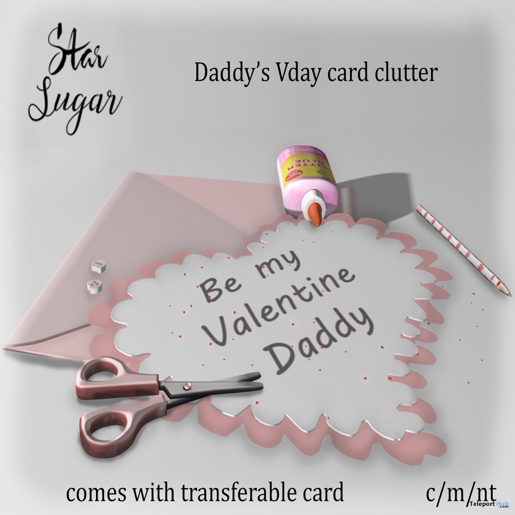 Daddy's Vday Clutter 1L Promo by Star Sugar- Teleport Hub - teleporthub.com