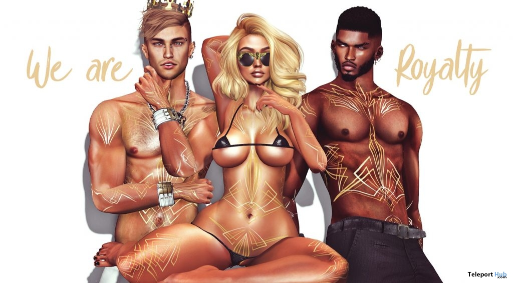 Lotus Unisex Tattoo January 2019 Group Gift by THIS IS WRONG - Teleport Hub - teleporthub.com