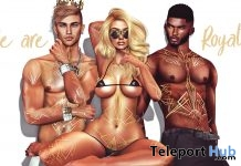 Lotus Unisex Tattoo January 2019 Group Gift by THIS IS WRONG- Teleport Hub - teleporthub.com