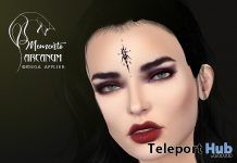 Arcanum Face Tattoo Spectrum Event January 2019 Gift by memento - Teleport Hub - teleporthub.com
