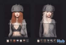 New Release: Milana, Neva, Nina, & Nova Hair by Entwined @ Shiny Shabby January 2019 - Teleport Hub - teleporthub.com