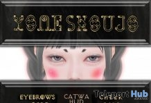 "Make Set 1 Eyebrows & Cheek January 2019 Gift by YOME SHOUJO @ FREEBIES ""F"" Store - Teleport Hub - teleporthub.com"