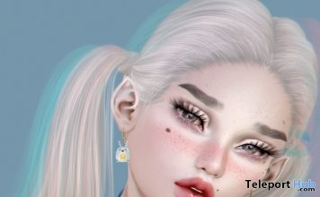 PixelBunneh Earrings & Choker Set January 2019 Gift by Axix - Teleport Hub - teleporthub.com