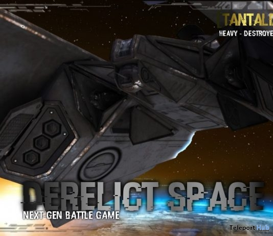 Derelict Space Destroyer Tantalize Gift by Nerox Hi-Tech Store- Teleport Hub - teleporthub.com
