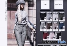 New Release: Olivia Outfit by RKKN @ Shiny Shabby January 2019 - Teleport Hub - teleporthub.com